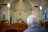 """Sister Ann arrives at Sunday mass early to sit and pray. """"You don't have to come,"""" she tells me, """"most people go to church on Sunday, but you don't have to come."""""""