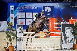 BERENZEN Hanno (GER), Zalido<br /> Braunschweig - Löwenclassics 2018<br /> HGW-Bundesnachwuchschampionat Stilspringen Klasse M<br /> © www.sportfotos-lafrentz.de/Stefan Lafrentz