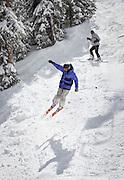 Last day of the ski season at Monarch Mountain.