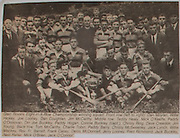 Glen Rovers Eight-in-a-Row Championship winning squad, front row (left to right), Dan Moylan, Willie Hickey, Joe Looney, Dan Coughlan, Jim McCarthy, middle row, Teddy Healy, Mick O'Keeffe, Paddy O'Donovan, Din Joe Buckley, Paddy Hogan, Connie Buckley (capt), Christy Ring, Dave Creedon, Jim Young, back row, Tom McCarthy, Charlie Tobin, Paddy Barry, Christy McSweeney, Jack Lynch, Willie Mackey, Rev Fr Barrett, Frank Casey, Denis McDonnell, Jerry Looney, Fred Richmond, Jack Buckley, Ned Porter, Mick O'Brien, Jack O'Connor,