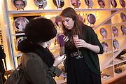 JESSICA LAMBERT; KATHRYN BALLS, Liberatum Cultural Honour  for John Hurt, CBE in association with artist Svetlana K-Lié.  Spice Market, W London - Leicester Square