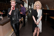 LISA GUNNING;; ALISON GOLDFRAPP;, Esquire dinner celebrating being Brilliant, Young and British hosted by editor Jeremy Langmead at Aqua Nueva, Fifth Floor, 240 Regent Street , London 1 June 2010. -DO NOT ARCHIVE-© Copyright Photograph by Dafydd Jones. 248 Clapham Rd. London SW9 0PZ. Tel 0207 820 0771. www.dafjones.com.