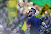 Supporter Nantes Tribune Loire - 05.04.2015 - Nantes / Caen - 31eme journee de Ligue 1<br />