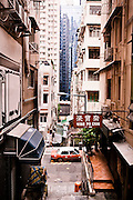 View from Upper mid-levels, Central, Hong Kong.