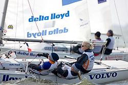 08_00969 © Sander van der Borch. Medemblik - The Netherlands,  May 21th 2008 . First day of the Delta Lloyd Regatta 2008.