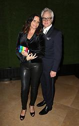 7 January 2018 -  Beverly Hills, California - Amy Landecker, Bradley Whitford. 75th Annual Golden Globe Awards_Roaming held at The Beverly Hilton Hotel. Photo Credit: Faye Sadou/AdMedia