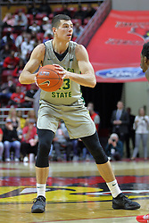 NORMAL, IL - November 13: Patrick Szpir during a college basketball game between the ISU Redbirds  and the Chicago State Cougars on November 13 2018 at Redbird Arena in Normal, IL. (Photo by Alan Look)