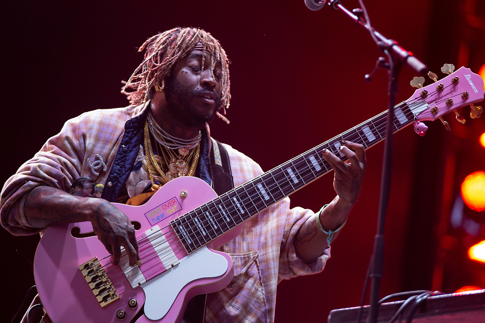Thundercat performs at Camp Flog Gnaw 2019 in Los Angeles, CA.