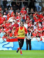 GEPA-0806085604 - FEUSISBERG,SCHWEIZ,08.JUN.08 - FUSSBALL - UEFA Europameisterschaft, Vorbereitung auf die EURO 2008, Nationalteam Schweiz, Training. Bild zeigt Hakan Yakin (SUI).<br />Foto: GEPA pictures/ Oliver Lerch