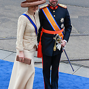 NLD/Amsterdam/20130430 - Inhuldiging Koning Willem - Alexander, Erfgroothertog Guillaume en erfgroothertogin Stephanie van Luxemburg