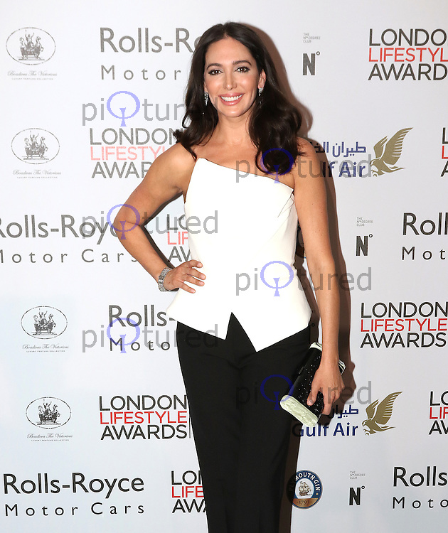 Lauren Silverman, London Lifestyle Awards, Lancaster London Hotel UK, 03 October 2016, Photo by Richard Goldschmidt