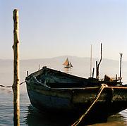 Local wooden boats, Port-Au-Prince, Haiti