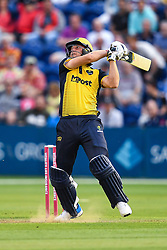 Chris Cooke of Glamorgan in action<br /> <br /> Photographer Craig Thomas/Replay Images<br /> <br /> Vitality Blast T20 - Round 4 - Glamorgan v Middlesex - Friday 26th July 2019 - Sophia Gardens - Cardiff<br /> <br /> World Copyright © Replay Images . All rights reserved. info@replayimages.co.uk - http://replayimages.co.uk