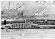 """D&RGW Durango stock yards built in 1938 south of main yards.<br /> D&RGW  Durango, CO  <br /> In book """"Durango: Always a Railroad Town (1st ed.)"""" page 87"""