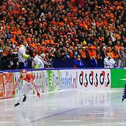 NLD/Heerenveen/20130112 - ISU Europees Kampioenschap Allround schaatsen 2013 dag 2, 500 meter dames, Yekaterina Lobysheva - Ireen Wust