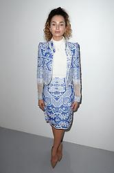 Ella Eyre attending the Bora Aksu Autumn/Winter 2017 London Fashion Week show at the BFC Show Space, 180 Strand, London. Photo credit should read: Doug Peters/ EMPICS Entertainment