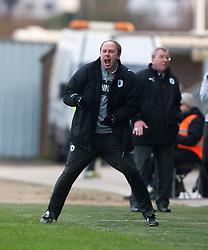 .Falkirk 1 v 0 Dunfermline, 16/2/2013..©Michael Schofield.