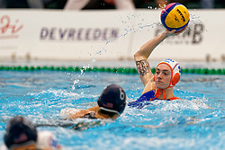 Sabrina Van Der Sloot #4 of Netherlands in action during the friendly match Netherlands vs USA on February 19, 2020 in Amerena Amersfoort.