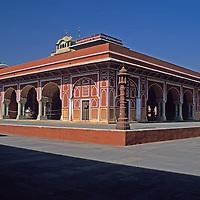 Asia, India Jaipur. The Pink Palace.