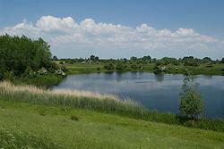 Empe,l Noord Brabant, Bloemrijke dijken bij Empel, rivierdijk