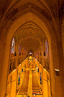 Interior view, Washington National Cathedral, Washington D.C., U.S.A.