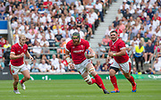 Twickenham, Surrey, World Cup, Sunday, 11.08.19, Wales, Jake BALL, playing in the Warm up match, Quilter International, England vs Wales, at the RFU Stadium  [© Peter SPURRIER/Intersport Image]<br /> <br /> 15:46:58