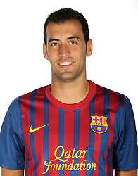 24.08.2011, Barcelona, ESP, FC Barcelona Fotocall, im Bild Portrait von Sergio Busquets, EXPA Pictures © 2011, PhotoCredit: EXPA/ Alterphotos/ ALFAQUI/ Gregorio