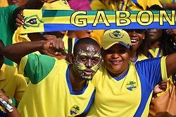 January 18, 2017 - gabon - FANS SUPPORTERS GABON (Credit Image: © Panoramic via ZUMA Press)
