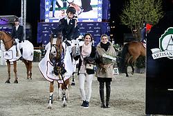 Conter Emilie, BEL, Espyrante<br /> CSI2* Grand Prix Final<br /> Jumping Antwerpen 2017<br /> © Hippo Foto - Dirk Caremans<br /> 22/04/2017
