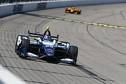 July 8, 2018 - Newton, Iowa, United States of America - MAX CHILTON (59) of England battles for position during the Iowa Corn 300 at Iowa Speedway in Newton, Iowa. (Credit Image: © Justin R. Noe Asp Inc/ASP via ZUMA Wire)