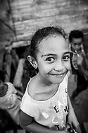 Girl in Hanuabada, a Motu village located on the outskirts of Port Moresby, Papua New Guinea. (June 14, 2019)