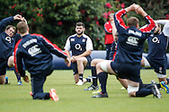 Picture by Andrew Tobin/Tobinators Ltd +44 7710 761829.24/05/2013.England captain Rob Webber looks on during the England training session at Pennyhill Park, Bagshot ahead of the match against the Barbarians on 26th May 2013.