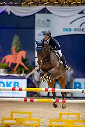 FALKE Paulina (GER), Checker FM<br /> München - Munich Indoors 2018<br /> SPOOKS-Amateur Trophy<br /> 23. November 2018<br /> © www.sportfotos-lafrentz.de/Stefan Lafrentz
