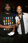 l to r: Ahmir Quest?love and Common at Common's Start the Show n' Bowl benefiting The Common Ground Foundation held at Hotel Sax on September 26, 2008 in Chicago, IL