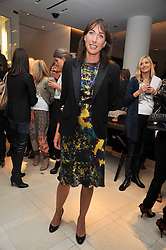 SAMANTHA CAMERON at a reception hosted by Vogue and Burberry to celebrate the launch of Fashions Night Out - held at Burberry, 21-23 Bond Street, London on 10th September 2009.