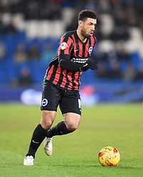 Brighton and Hove Albion's Leon Best - Photo mandatory by-line: Paul Knight/JMP - Mobile: 07966 386802 - 10/02/2015 - SPORT - Football - Cardiff - Cardiff City Stadium - Cardiff City v Brighton & Hove Albion - Sky Bet Championship