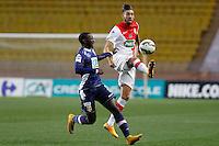 Yannick Ferreira Carrasco /  Sabaly Youssouf   - 21.01.2015 - Monaco / Evian Thonon   - Coupe de France 2014/2015<br />Photo : Sebastien Nogier / Icon Sport
