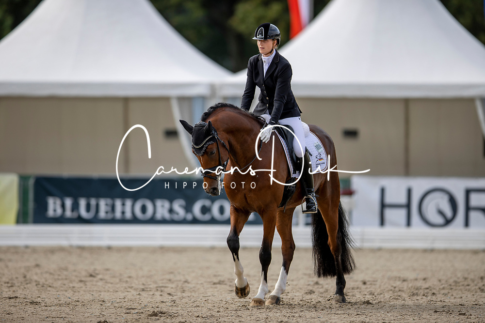 Richter Leonie, GER, Francis Drake Old<br /> World Championship Young Horses Verden 2021<br /> © Hippo Foto - Dirk Caremans<br /> 26/08/2021