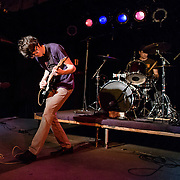 WASHINGTON, D.C. - May 23rd, 2016 - Will Toldeo, aka Car Seat Headrest, and drummer Andrew Katz<br /> perform at the Black Cat in Washington, D.C. Toledo, originally from Leesburg, VA, was recently signed to Matador Records. (Photo by Kyle Gustafson / For The Washington Post)