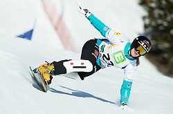 Anke Karstens of Germany competes during Elimination of the Ladies' Parallel Giant Slalom at FIS World Championships of Snowboard and Freestyle 2015, on January 23, 2015 at the WM Piste in Lachtal, Austria. Photo by Vid Ponikvar / Sportida