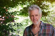 Portrait Of Mature Man In Garden
