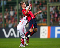 Fotball<br /> Frankrike<br /> Foto: Dppi/Digitalsport<br /> NORWAY ONLY<br /> <br /> FOOTBALL - CHAMPIONS LEAGUE 2006/2007 - 1ST ROUND - GROUP H - LILLE OSC v MILAN AC - 26/09/2006<br /> <br /> MATHIEU BODMER (LIL)