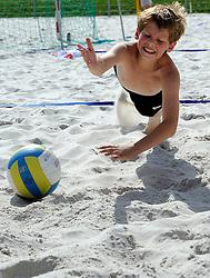 16-08-2012 ALGEMEEN: ZOMERKAMP BVDGF: LANDGRAAF<br />Zomerkamp van BvdGF met mountainbike, klimmen, snowboarden, skien, voetbal en volleybalevents<br />©2012-FotoHoogendoorn.nl