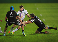Rugby Union - 2020 / 2021 ER Challenge Cup - Quarter-final - Bath vs London Irish - The Recreation Ground<br /> <br /> of Bath<br /> <br /> Credit : COLORSPORT/ANDREW COWIE