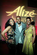 """l to r: Michele Murray, Alize Brand Director, D-Nice and Felicia Fletcher, Alize Diamond Awardee at The Ludacris Foundation 5th Annual Benefit Dinner & Casino Night sponsored by Alize, held at The Foundry at Puritan Mill in Atlanta, Ga on May 15, 2008.. Chris """"Ludacris"""" Bridges, William Engram and Chaka Zulu were the inspiration for the development of The Ludacris Foundation (TLF). The foundation is based on the principles Ludacris learned at an early age: self-esteem, spirituality, communication, education, leadership, goal setting, physical activity and community service. Officially established in December of 2001, The Ludacris Foundation was created to make a difference in the lives of youth. These men have illustrated their deep-rooted tradition of community service, which has broadened with their celebrity status. The Ludacris Foundation is committed to helping youth help themselves."""