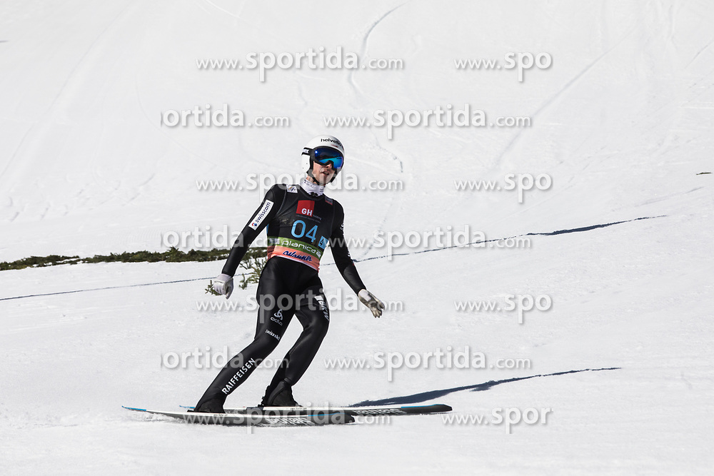 Simon Ammann (SUI) during Ski Flying Hill Team Competition at Day 3 of FIS Ski Jumping World Cup Final 2019, on March 23, 2019 in Planica, Slovenia. Photo by Peter Podobnik / Sportida