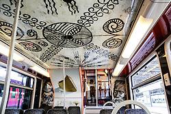 June 16, 2017 - Paris, France - LE MUSEE DU QUAI BRANLY S ' INVITE DANS LE TRAINS DES ARTS ET CIVILISATIONS PRESENTE PAR LA SNCF GARE DE L ' EST . LE TRAIN SERA MIS EN CIRCULATION A PARTIR DU 15 JUIN (Credit Image: © Visual via ZUMA Press)