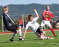 Fotball NM 3. runde Byåsen - Rosenborg 1-8<br /> Torstein Helstad setter inn 0-2<br /> Foto: Carl-Erik Eriksson, Digitalsport