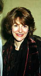 SARAH STACEY, Editor, Express Magazine, at a reception in London on 9th February 2000.OAX 70
