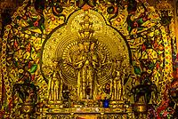 Buddha statue, Fuguo Monastery, near, Lijiang, Yunnan Province, China.